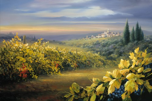 Fine art edition titled Chianti by Charles Pabst