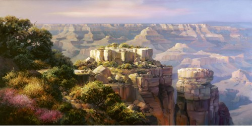 Fine art edition titled Moran Point Vista by Charles Pabst
