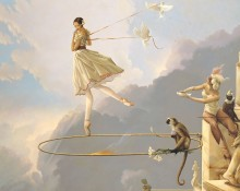 Michael Parkes Art - Tuesday's Child
